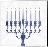 Sophisticated Hanukkah I Fine-Art Print
