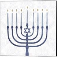 Sophisticated Hanukkah II Fine-Art Print