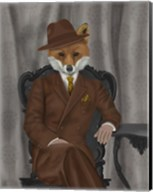 Fox 1930s Gentleman Fine-Art Print