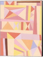 Blush Structure I Fine-Art Print