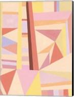 Blush Structure II Fine-Art Print