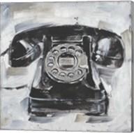 Retro Phone I Fine-Art Print