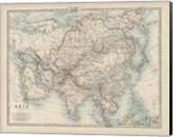 Map of Asia Fine-Art Print