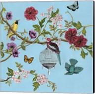 Bird Song Chinoiserie II Fine-Art Print
