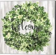 Welcome Wreath II Fine-Art Print