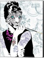 Smoking Diva Fine-Art Print