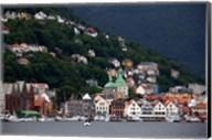 Norway, Bergen Bergen Harbour Fine-Art Print