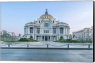 Mexico City, Palacio De Bella Artes At Dawn Fine-Art Print