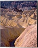 California, Death Valley NP, At Zabriskie Point Fine-Art Print