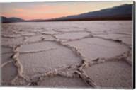 California, Death Valley Salt Flats Fine-Art Print