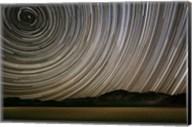 California, Death Valley Star Streaks Fine-Art Print