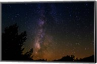 The Milky Way Above Dusy Basin, Kings Canyon National Park Fine-Art Print