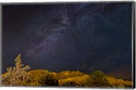 Milky Way Above Mountains, Colorado Fine-Art Print