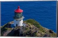 Waimanalo Us Coast Guard Makapuu Point Light, Oahu, Hawaii Fine-Art Print
