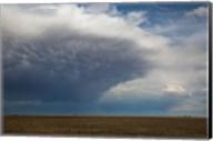 Storm Cell Forms Over Prairie, Kansas Fine-Art Print