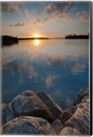 Sunset On Kabetogama Lake, Voyageurs National Park Fine-Art Print