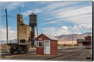 Detail Of Historic Railroad Station, Nevada Fine-Art Print