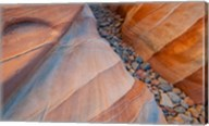 Designs Of A Small Canyon On The White Dome Trail Fine-Art Print