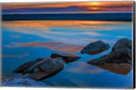 Rocky Seashore Of Cape May, New Jersey Fine-Art Print