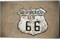 New Mexico State Route 66 Sign Fine-Art Print
