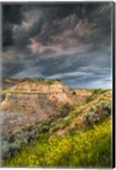 Thunderstorm Approach On The Dakota Prairie Fine-Art Print