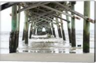 Oceanic Pier, Wilmington, North Carolina Fine-Art Print
