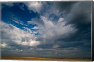 Massive Summer Cloud Formations Over Wheat Fields Fine-Art Print