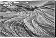 Second Wave Zion National Park Kanab, Utah (BW) Fine-Art Print