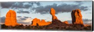 Arches National Park Balanced Rock Panorama, Utah Fine-Art Print