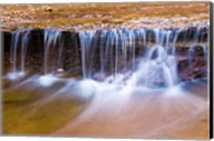 Cascade Along The Left Fork Of North Creek, Zion National Park, Utah Fine-Art Print