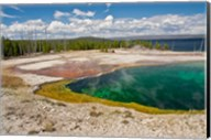 Abyss Pool, West Thumb Geyser Basin, Wyoming Fine-Art Print