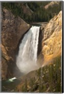 Lower Falls Of The Yellowstone, Lookout Point, Wyoming Fine-Art Print