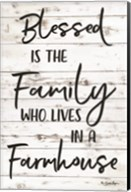 Blessed is the Family Fine-Art Print
