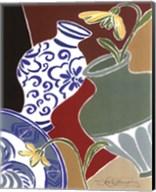 Blue and White Vase Fine-Art Print