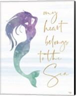 My Heart Belongs to the Sea Fine-Art Print