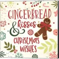 Gingerbread Kisses Fine-Art Print