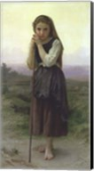 A Little Shepherdess, 1891 Fine-Art Print