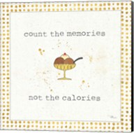 Calorie Cuties VI Dot Border Fine-Art Print