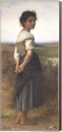 The Young Shepherdess, 1885 Fine-Art Print