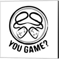 You Game Emblem Fine-Art Print
