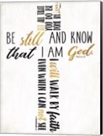 Three Quote Cross Too Fine-Art Print