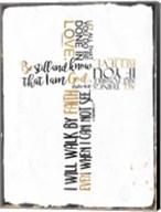 Four Quote Cross Fine-Art Print