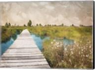 On The Marsh Fine-Art Print