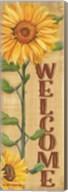 Welcome Sunflower Fine-Art Print