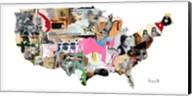 US Map Fine-Art Print