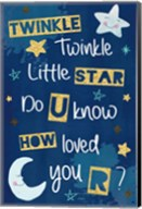 Twinkle Twinkle Little Star Fine-Art Print