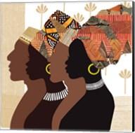 African Men and Women Fine-Art Print