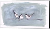 Birds on a Wire I Fine-Art Print