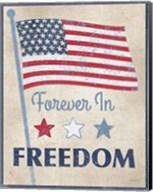Forever in Freedom Dark Fine-Art Print
