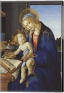 Madonna of the Book, 1480 Fine-Art Print
